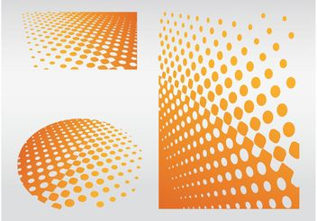 Dot Patterns - vector #144213 gratis
