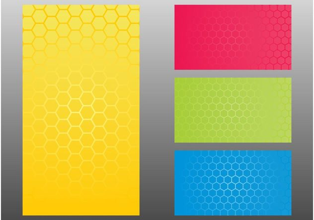 Honeycomb Patterns - Free vector #144233
