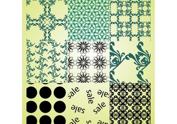 Free Patterns - vector gratuit #144353