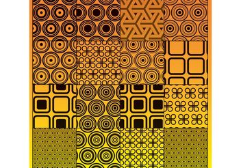 Vector Circles Graphics Pattern - Free vector #144503