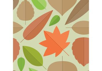 Leaves Vector Background - Kostenloses vector #144683