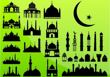 Islam Graphics - vector gratuit #145293