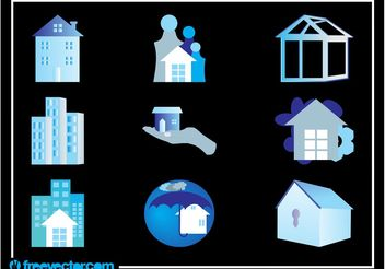 Real Estate Graphics - Free vector #145383