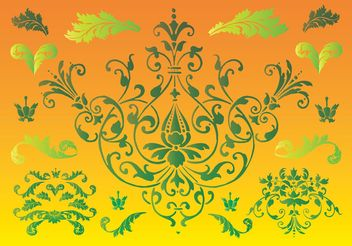 Floral Nature Graphics - vector #145653 gratis