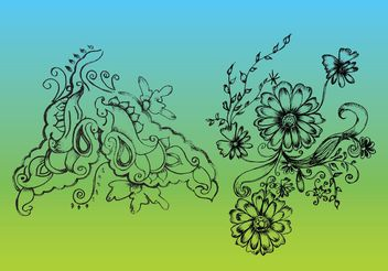 Nature Vector Drawing - Kostenloses vector #145683