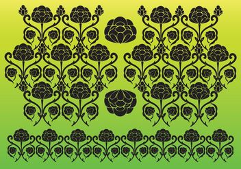 Flower Vector Decoration - Free vector #145743