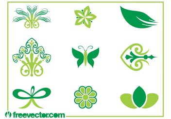 Vector Nature Icons - Kostenloses vector #145793