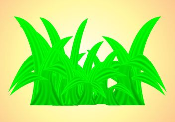 Fresh Grass - vector gratuit #146083