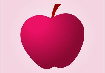 Apple Vector Graphics - Free vector #146103