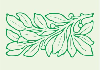 Leaves Graphics - vector gratuit #146343