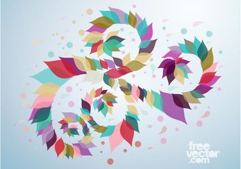 Leaves Graphics Design - бесплатный vector #146393