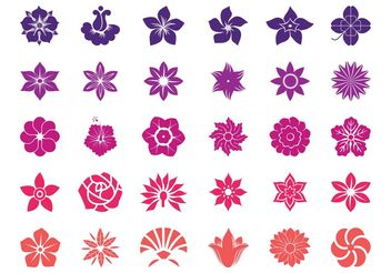 Flower Blossoms Graphics - Free vector #146483