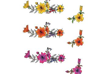 Free Flowers Vector - Free vector #146503