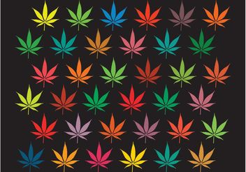 Marijuana Background Graphics - бесплатный vector #146513