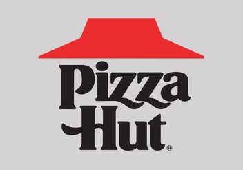 Pizza Hut - vector gratuit #146813