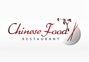 Asian Food Vector Logo - vector gratuit #146883