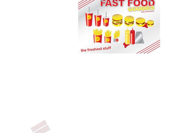 Fast-Food - Free vector #147123