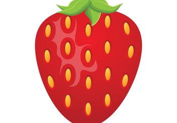 Strawberry - Kostenloses vector #147523