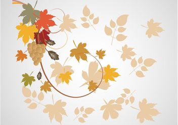 Autumn Background Image - Free vector #147883