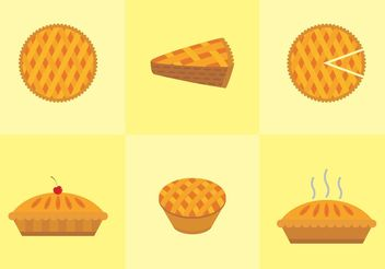 Apple Pie Vector Free - Free vector #148023
