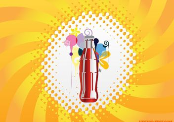 Cool Drink - vector gratuit #148033
