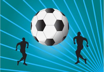 Free Football Vector - vector gratuit #148053