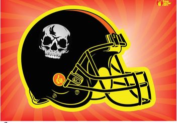 Football Helmet - vector gratuit #148283