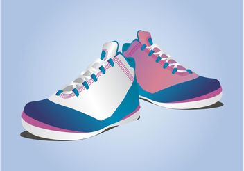 Sports Shoes - vector gratuit #148293