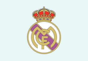 Real Madrid Crest - vector gratuit #148463