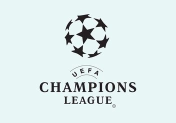 UEFA Champions League - vector gratuit #148493