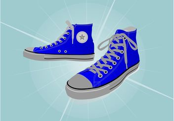 All Star Sneakers - vector gratuit #148763