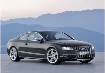 Audi S5 Wallpaper - vector #148993 gratis