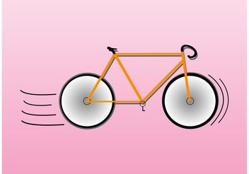 Bike Icon - vector #149003 gratis