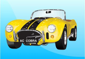 Shelby Cobra - Free vector #149033