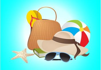 Summer Vacation Vector - Kostenloses vector #149293