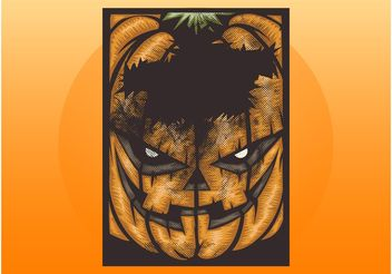 Grunge Halloween Layout - Free vector #149303