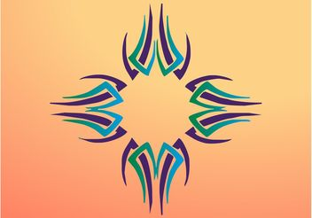 Abstract Cross - Kostenloses vector #149423