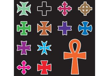 Cross Vectors - vector gratuit #149483
