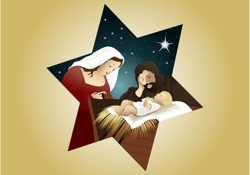 Vector Nativity - Free vector #149543