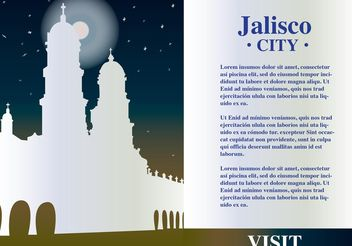 Jalisco Mexico Background Vector - vector gratuit #149873