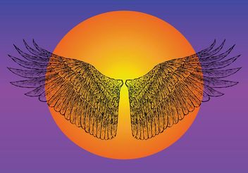 Icarus Wings - vector gratuit #149903