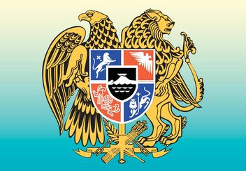 Eagle Lion Heraldry - бесплатный vector #150003
