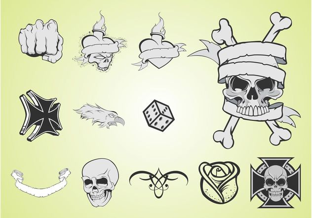 Tattoo-Layouts - Kostenloses vector #150103