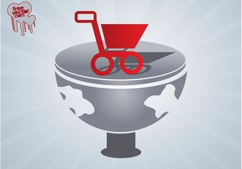Vector Shopping Icon - vector gratuit #150263