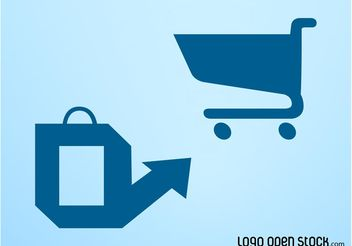 Vector Shopping Icons - бесплатный vector #150273