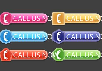 Call Us Now Vectors - vector #150363 gratis
