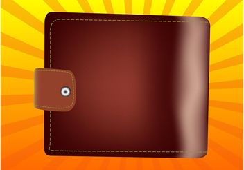 Leather Wallet - Kostenloses vector #150733