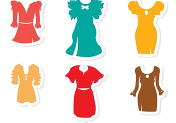 Fancy Dress Vectors - Free vector #150753