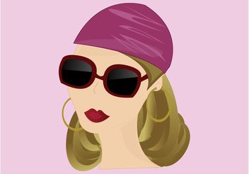 Fashion Girl - vector gratuit #150833