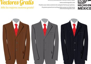 Tailor Suits Vectors - Free vector #150843